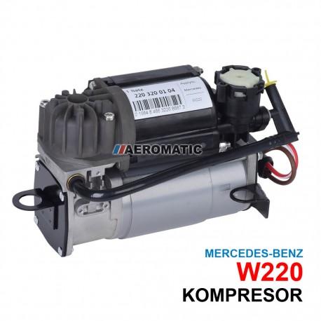 Mercedes-Benz S Klasa W220 kompresor pompa powietrza układu airmatic